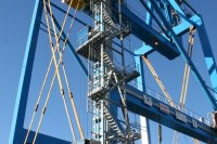 Upgrade of portual crane – Genoa