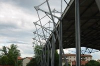 Roof structure of sport park - Treviso